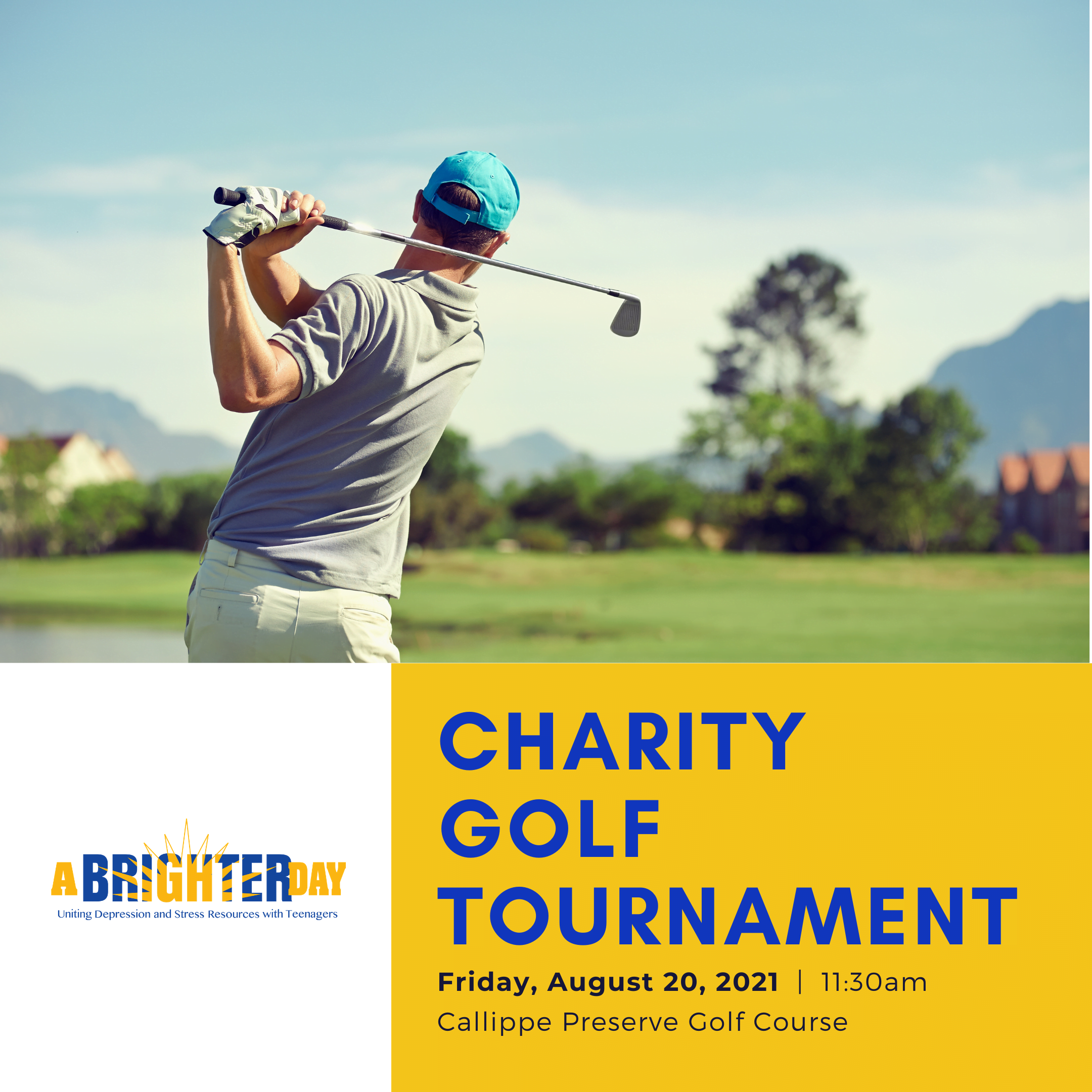 A Brighter Day Charity Golf Tournament
