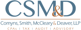 Comyns, Smith, McCleary & Deaver, LLP logo